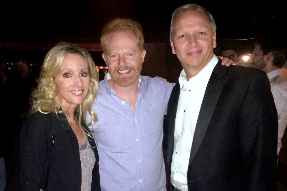 Sherri Tilley, Actor Jesse Tyler Ferguson, Scott Tilley