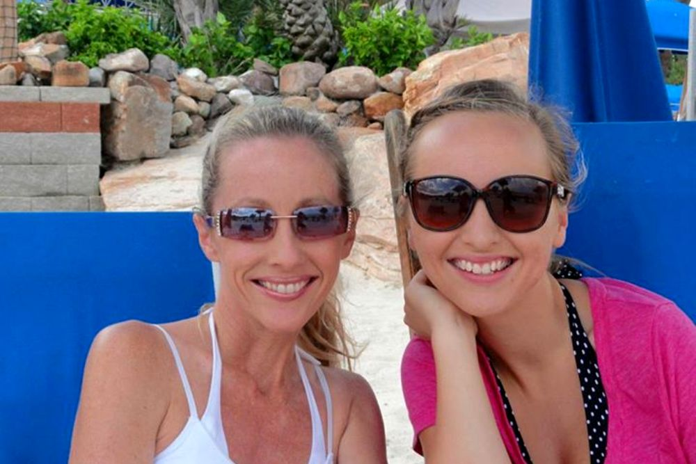 Sherri Tilley and Daughter | Moody Gardens Palm Beach