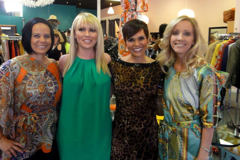 Camille Umland, Anika Cooper, Connie Dieb, and Sherri Tilley