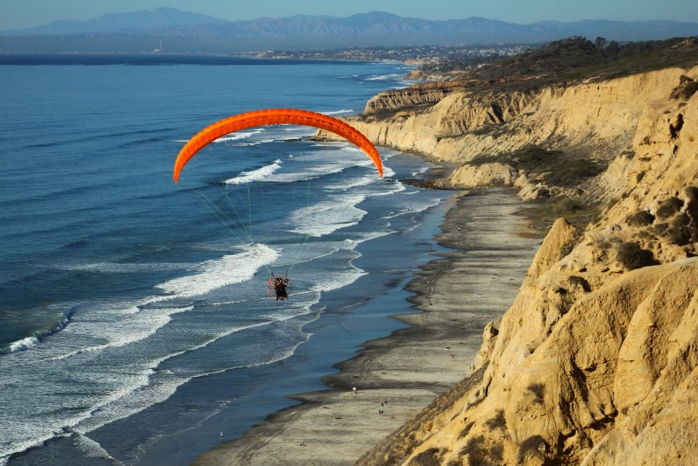 Paragliding with Scott Tilley at Torrey Pines Gliderport | by Sherri Tilley
